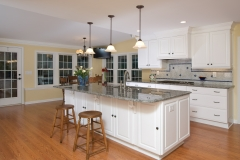 Kitchen island to stove