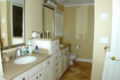 His & Hers Vanities w/ Drawer Stack