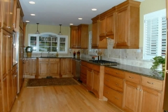 Kitchen Expanded into Laundry Room