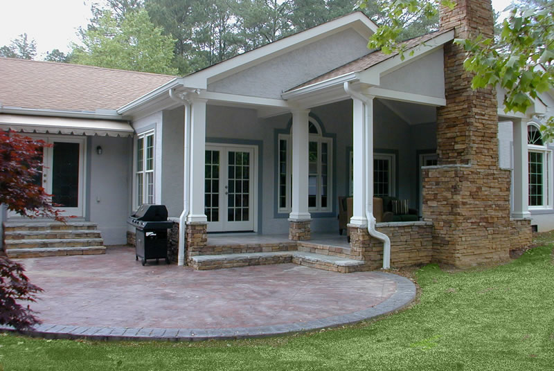 Family Room, Playroom, Porch, Patio