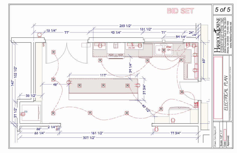 Henderson electrical plan
