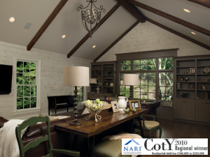 Dunwoody vaulted great room addition