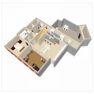 Dunwoody Terrace Level floorplan after