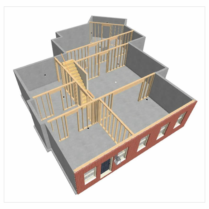 Dunwoody Terrace Level floorplan before