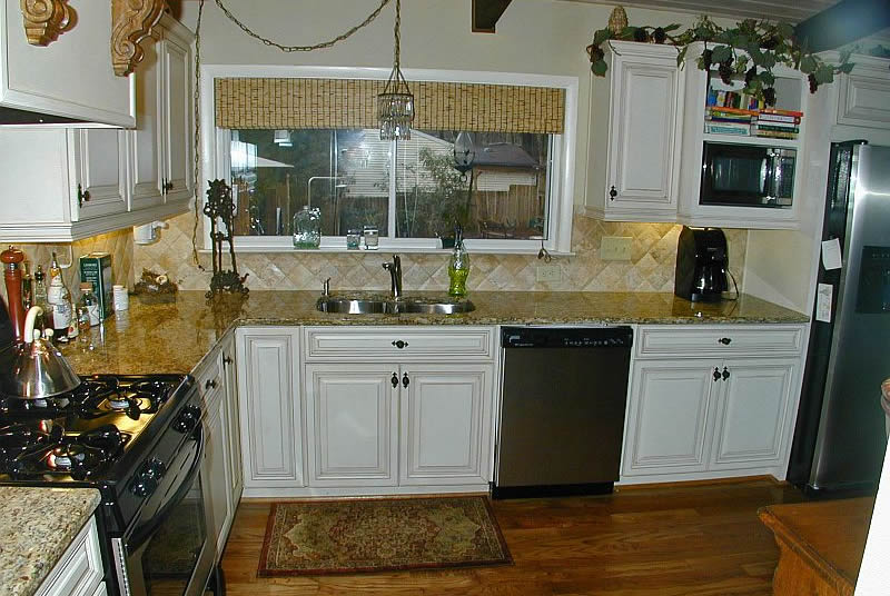 Painted Glaze Kitchen